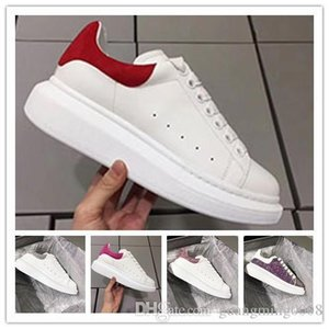 New Season Designer Shoe Fashion Luxury Women Shoes Men's Leather Lace Up Platform Oversized Sole Sneakers White Black Casual Shoes 0n43
