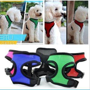 Terno Pet malha Dog Harness Dog Harness Vest Formação Pequenas e Médias Cães Gatos Chest Strap Pet Clothes BBA3-1