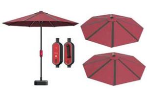 منتجات الطاقة الجديدة مخصص مخصص الألواح الشمسية الشاطئ مظلة، لالشمسية مظلة السلطة مرونة استخدام الألواح الشمسية لمقهى