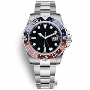 Nueva llegada GMT II Reloj de lujo Relojes de calidad para hombres 2813 Reloj mecánico automático de movimiento 30 metros Reloj de pulsera impermeable de zafiro