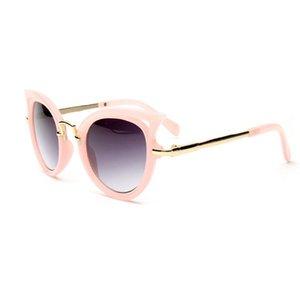 New Kids Óculos de sol meninas Cat Eye Crianças Óculos Meninos UV400 Lens Bebê Shades D08E