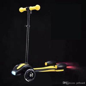 2018 China Factory bebê atacado scooter de três filhos roda balanço bicicleta mini-moto equilíbrio scooter de jato pontapé com fogo vapor