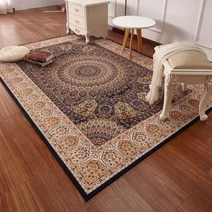 Estilo persa tapetes para sala de estar luxuoso do quarto tapetes e carpetes clássico Turquia Estudo Tapete Coffee Table Area Rug