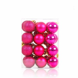3cm Christmas Balls Xmas Tree Ball Bauble Hanging Home New Year Party Decorations For Home cyq0090