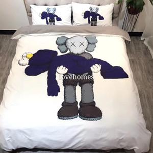 Luxury Home textiles quilt cover pillowcase sets warm Soft Classic Sanding Cotton Set for many size bed 4pcs set HT2059