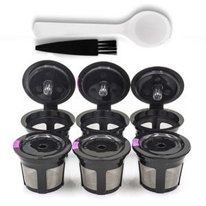 6pcs Kits réutilisables Rechargeables café Mesh Remplacement du filtre pour Keurig K-Cup AU