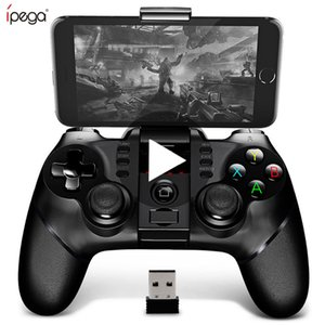 Ipega 9076 PG-9076 celular Bluetooth Gamepad Game Pad controlador Móvel Gatilho Joystick Para Android entregas PC Mão fogo T191227 gratuito