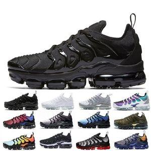 Nike air vapormax Plus tn Correndo Calçados Esportivos Zapatillas Hombre Deportiva Qualidade Queda de Outono quente Unisex Camuflagem Tênis Ao Ar Livre Para Homem Adulto