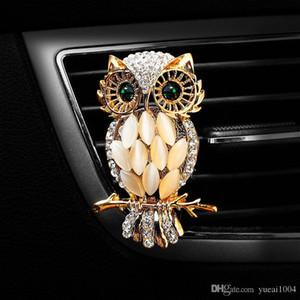 Búho ambientador de aire de salida de la belleza Perfume ornamentos del coche aromaterapia Interior Moda Ambientador para el coche Car Styling