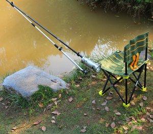 Рыбалка света кронштейна Регулируемого света рыболовства держатель Rest кронштейн Новые Маленький и легкая прочная телескопическая Рыбалка инструмент MC178