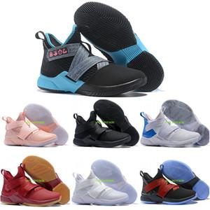 2019 yeni varış basketall ayakkabı asker ayakkabı erkekler için 12 orijinal tasarımcı sneakers mavi bred camo siyah kırmızı XII svsm agimat size7-12