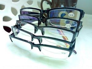Finished men's and women's comfortable presbyopic half-frame optical glasses frame resin slice presbyopic glasses