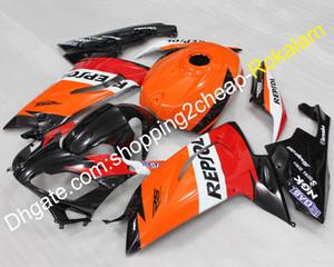 RS125 القلنسه لابريليا RS 125 2006 2007 2008 2009 2010 2011 R S 125 البرتقال الأحمر الأبيض الأسود هدية طقم (حقن)