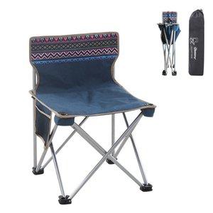 Outdoor Sedia pieghevole di schizzo per campeggio Beach Torna pesca Student casa Beach Lounge Chairs