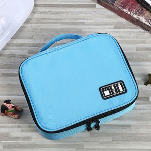 Camera Storage Bag, Electronic Product Storage Box, Customized Wholesale, Black Transparent Car Charger