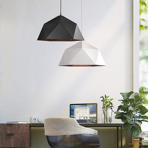 Moderna lampada a sospensione a Led Apparecchio con paralume in ferro per sala da pranzo Cafe Bar Restaurant Nordic Lampada a sospensione Lustre