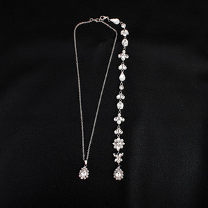Fashion Bridal Necklace Spring Bride's Back Chain Cheap Wedding Party Banquet Bride's Accessories