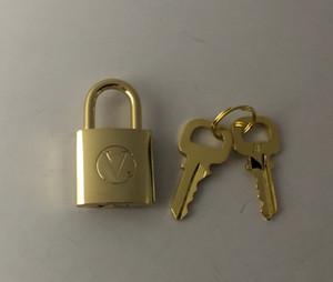 Gepäckvorhängeschloss / Lock-set = 1 Schloss + 2 Schlüssel, als Anhänger Ihre Ketten DIY. Kunden Designierte Produkt