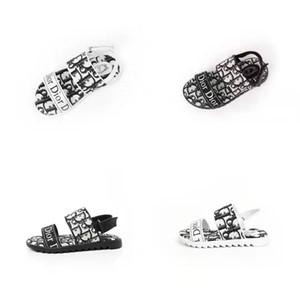 gladiador de la sandalia de los zapatos del niño del verano diseño de moda bebé Sirviente zapatilla de sandalias de playa casada sandalia de niño pequeño deslizadores de la playa del verano las sandalias
