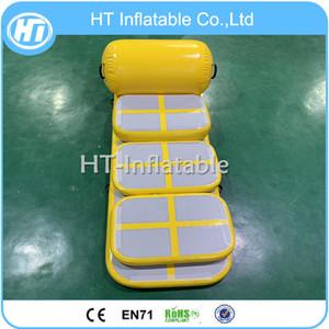 Freies Verschiffen ein Satz von Air Track Inflatable Turnmatte Trainings Set Aufblasbare Luft Brett Airblock