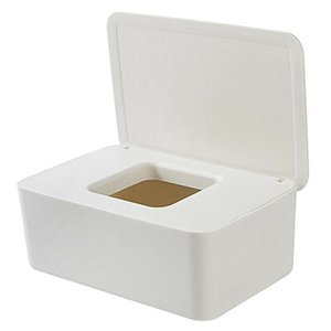 Wet Wipes Dispenser Holder Tissue Storage Box Case with Lid for Home Office HG99