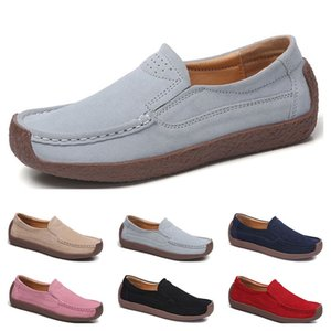 New Fashion 35-42 Eur new women's leather shoes Candy colors overshoes British casual shoes free shipping Espadrilles #twenty two