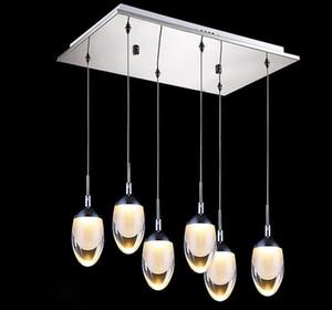Modern LED Pingente Luzes Da Moda Pingente Lâmpadas de Decoração Para Casa Interior Escadas de Iluminação luz Branco Quente / Cool Branco Pingente de Luz