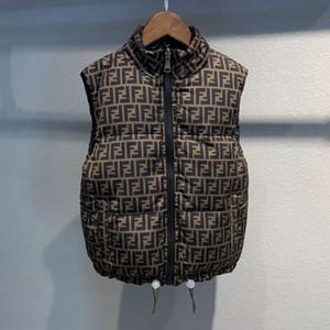 Çift taraflı aşınma ceket Bebek Kız Erkek Yelek ceket Çocuk Kış ceket bebek Ayarlanabilir giyim