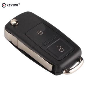 2 кнопки FLIP складной удаленный автомобиль ключ корпус FOB Shell для VW Volkswagen MK4 сиденье Altea Alhambra Ibiza