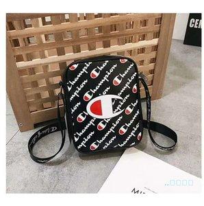 Markalı Crossbody Çanta Şampiyonu Mektupları Çantalar Cüzdanlar Kadın Erkek Fanny Paketi Bel Göğüs Çanta PU Omuz Çantası Plaj Spor Bez 2019 C61706