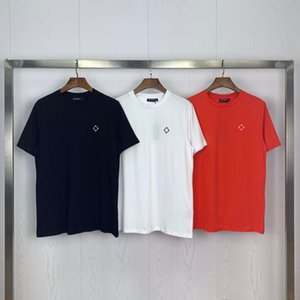 20ss tide brand new MA.STRUM simple chest LOGO embroidery men and women short sleeve T-shirt