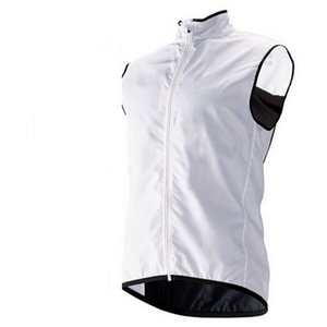 2020 Top Quality Lightweight Homens Mulheres Ciclismo Veste À Prova de Vento Gilet Branco Ciclismo Bicicleta Veste De Veste MTB Vest Back Malha