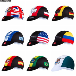 Cycling Cap Bike Hat Men Women Sun UV Bike Wear Bandana Helmet Pirate Poland Brazil Colombia Spain USA Greece Mexico New Zealand