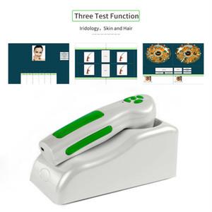 آلة التصوير الرقمية الجديدة iriscope iridology آلة اختبار العين 12.0 mp iris analyzer الماسح الضوئي DHL Shipping