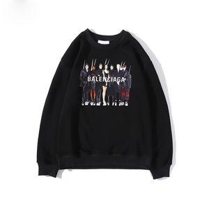 2020 New Hoodies Sweatshirts Couple Top Solid Color Coats Hooded Sweater Jacket Fashion Hip Hop
