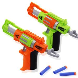 Neuer manueller weichen Kugel-Gewehr-Anzug für Nerf Kugel Spielzeug-Pistole Long Range Dart Blaster Gun Kinder Spielzeug Geschenk