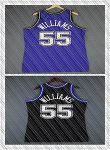 benutzerdefinierte Jason Williams Mitchell Ness 98 99 Jersey Herren Weste Größe XS-6XL genähtes Basketball Trikots Ncaa