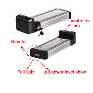 250w li batería de iones de 8AH 10ah 12ah e-bicicleta 24v batería bicicleta eléctrica con el cargador y el nivel llevado + cola caso controlador + luz