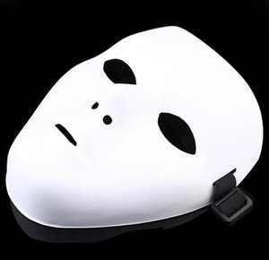 JabbaWockeeZ Mask Máscara Facial Festa Halloween HALLOWEEN Hip-Hop Ghost Dance PVC branco puro de máscaras máscaras do partido