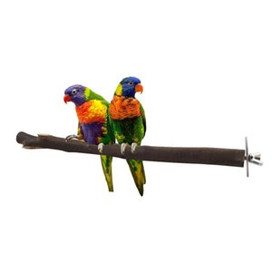 Stand Stick Branch Cage Accessories Pet Supplies Parakeet Practical Chewing Scratch Bird Toy Paw Grinding Wood Parrot Perch