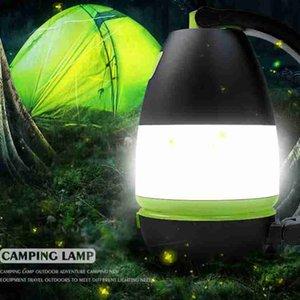 Настольные лампы 3 В 1 LED Палатки Лампы для кемпинга Лампа аварийного освещения дома USB перезаряжаемых портативных фонарики Мебель ZZA2336