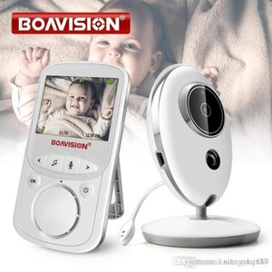 Audio LCD Wireless Video Baby Monitor VB605 Radio Nanny Musica Intercom IR 24h bambino della macchina fotografica portatile del bambino Walkie Talkie Babysitter