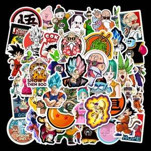 Dragon Ball Anime Stickers Pack Suitcase Skateboard Laptop Stickers Scrapbooking Toy For Children Cartoon Graffiti Sticker Kids