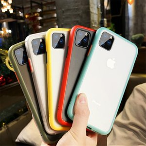 Luxury Shockproof Case For iPhone X XR XS Max 6 6s plus Silicone Translucent Matte phone cover For iPhone 11 pro max 7 8 Plus cases fundas