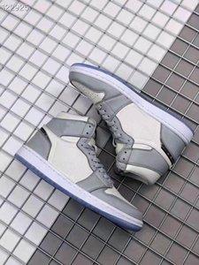 2020 nuova primavera di vendita caldo all'aperto alta uomini scarpe da basket OG 3 donne tabellone rotti aj scarpe casual arancio 1 1s bianco