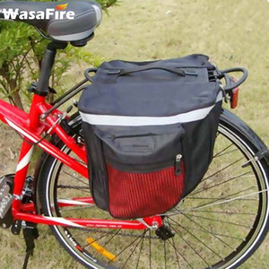 25L непромокаемые Mountain Road Велосипед Carrier Bag Double Side Bike Rack заднее сиденье Tail Carrier Trunk водонепроницаемый мешок Велоспорт