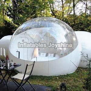3/4/5 m 10/13 / 16ft camping en plein air gonflable Bubble Tente Grande Maison DIY Dôme Camping Cabin Lodge Air Bubble Tente transparente