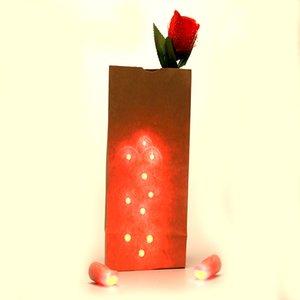 حقيبة O LITES (الأحمر والأزرق) الخدع السحرية لعب بما في ذلك D'ضوء الأصابع وزهور ضوء المرحلة عشاق الأزواج Maigc G8368