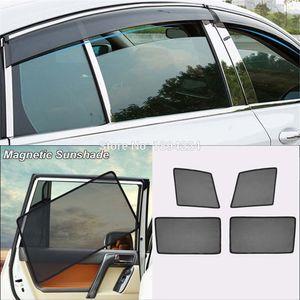 Car Full Side Windows Magnetic Sun Shade Uv Protection Ray Blocking Mesch Visor For Regal 2009-2016