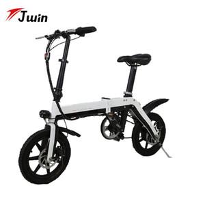 Bike14inch eléctrica plegable Mini Electric smart ebike bicicleta plegable de la batería de litio de 36V de litio de la batería de la bicicleta